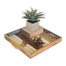 recycled teak tray