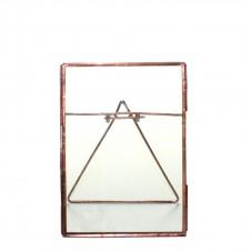 homart cornell 5x7 vertical easel frame, copper