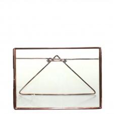 homart cornell 7x5 horizontal easel frame, copper