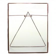 homart cornell 8x10 vertical easel frame, copper