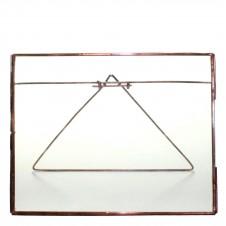 homart cornell 10x8 horizontal easel frame, copper