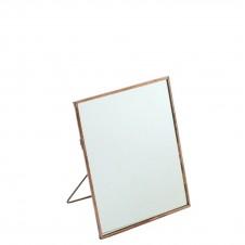 homart cornell 6x7.5 vertical easel mirror, copper