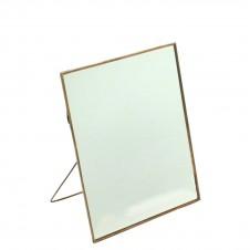 homart cornell 8x10 vertical easel mirror, copper