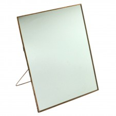homart cornell 10x12.5 vertical easel mirror, copper