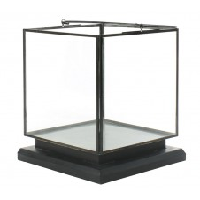 homart preston tin and glass vitrine medium