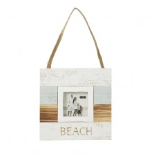 mud pie the beach hanging frame