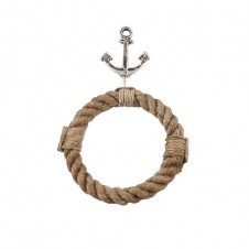 mud pie anchor rope towel ring