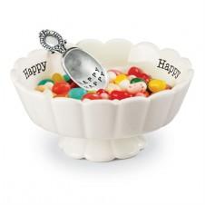 happy candy dish set