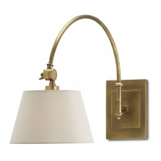 currey & company ashby swing-arm sconce