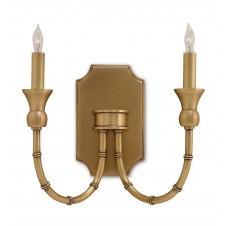 imperial bamboo wall sconce