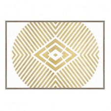 geometry gold giclee