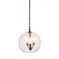 ostend glass ball chandelier