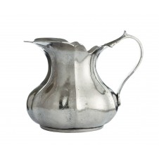 arte italica vintage small scalloped pitcher