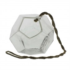 homart hanging dodecahedron vase, small