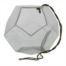 homart hanging dodecahedron vase, large
