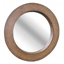 coconut shell mirror