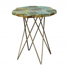 palecek malachite side table