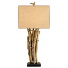 currey & company driftwood table lamp