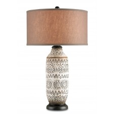 currey & company intarsia table lamp