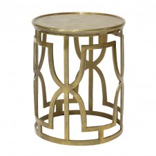 palecek kim gold side table