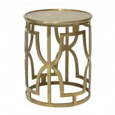 palecek kim gold side table