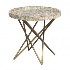 palecek spence shell side table