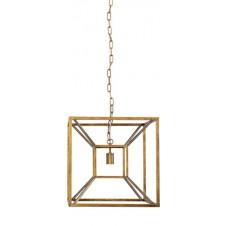 briar gold pendant