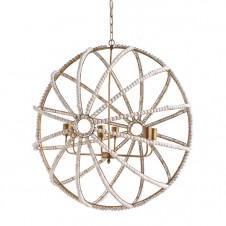 ava white chandelier