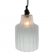 homart stina glass pendant light, large