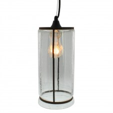homart serge glass pendant light, tall