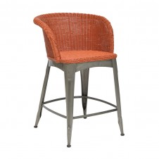 palecek navy counter stool