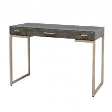 palecek porter faux shagreen desk