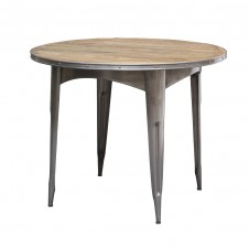 palecek navy dining table