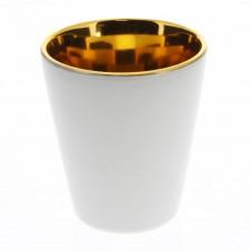 homart raas ceramic votive cup, large