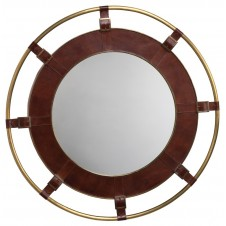 leather portsmouth mirror