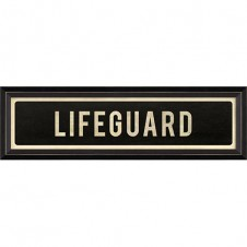 """lifeguard"" street sign"