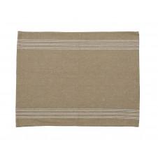 9 stripe cream placemat