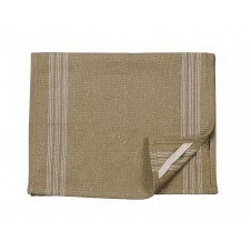 9 stripe cream tea towel