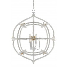 currey & company seaforth orb chandelier