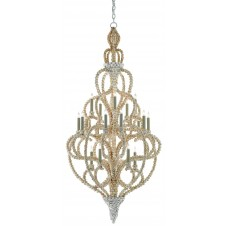 currey & company corniche chandelier, large