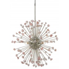 currey & company quartz moon chandelier
