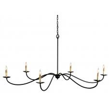 currey & company saxon chandelier