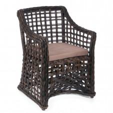rattan chair brown