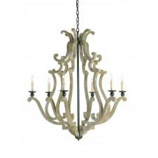 currey & company durand chandelier