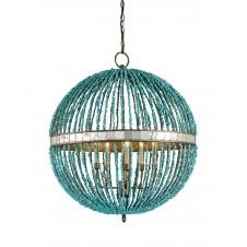 currey & company alberto orb chandelier
