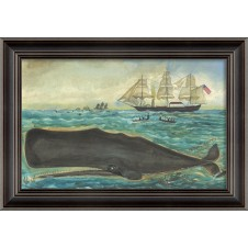 """the sperm"" whale art"