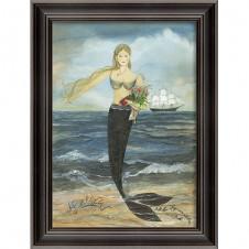 """all her days"" mermaid art"