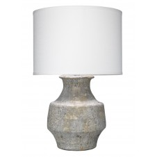 jamie young masonry table lamp w/ classic drum shade