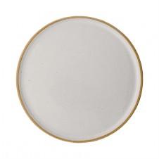 "6.5"" round ceramic barbara plate"