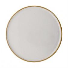 "10"" round ceramic barbara plate"